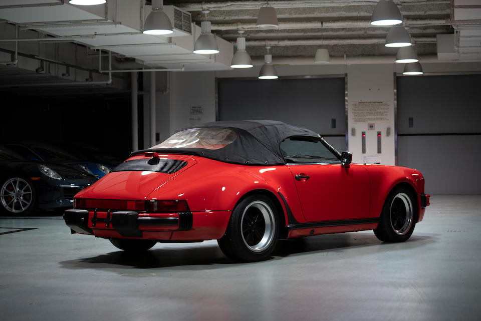 <b>1989 Porsche 911 Carrera Speedster</b><br />VIN. WP0EB0917KS173078  <br />Engine no. 64K05445