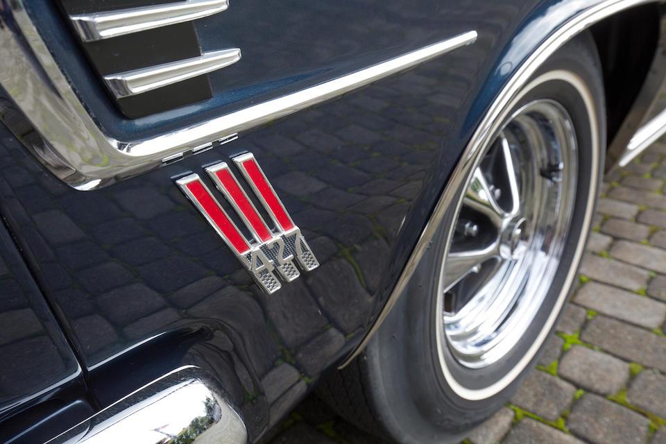 "<b>1967 Mercury Comet Caliente ""R-Code"" 2-DR Hardtop</b><br />Chassis no. 7H11R545017"