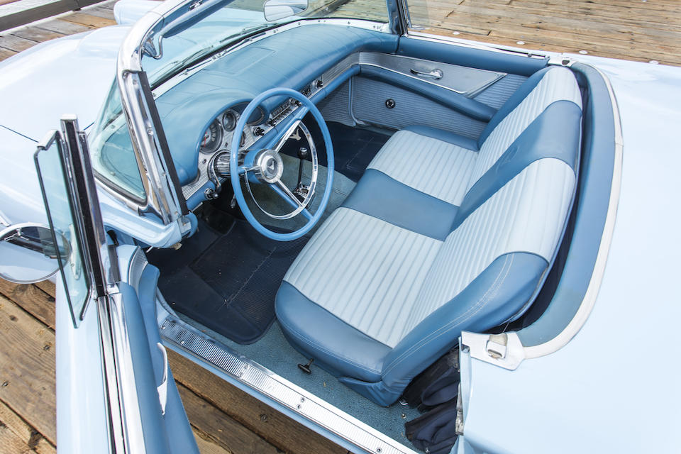 <b>1957 Ford Thunderbird</b><br /> Chassis no. D7FH107589