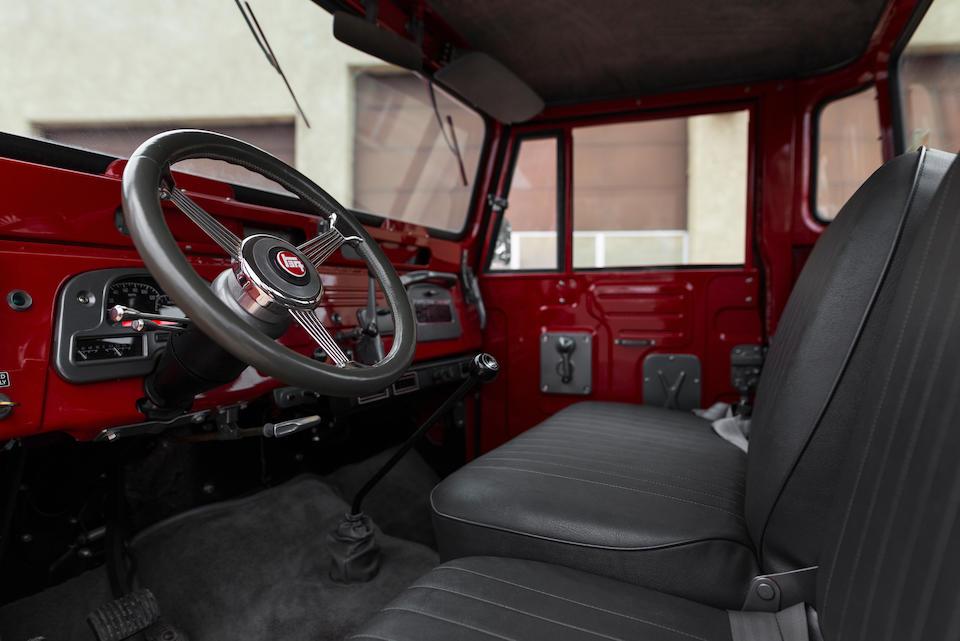 <b>1967 Toyota Land Cruiser FJ 45 Pickup</b><br />Chassis no. FJ45-22811