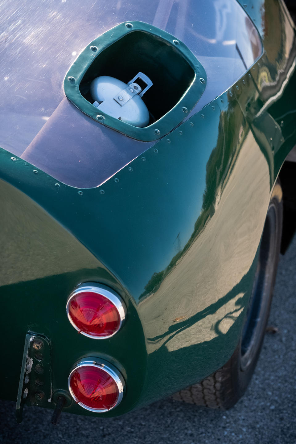 <b>1967 Austin-Healey Sprite Streamliner LeMans Coupe</b><br />Chassis no. HAN8R202<br />Engine no. XSP 26041