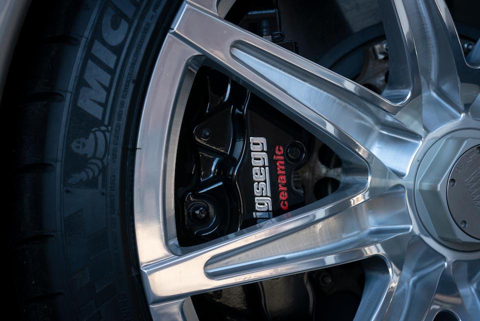 <b>2008 Koenigsegg CCX</b><br />VIN. YT9XC81B98A007066