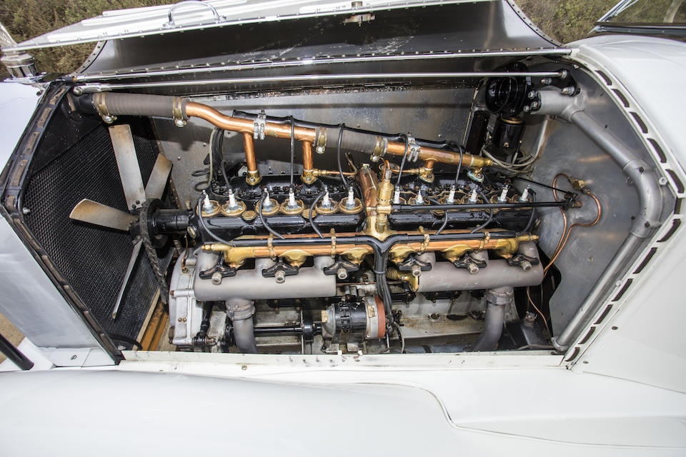 <b>1924 Rolls-Royce Silver Ghost Piccadilly Special Roadster</b><br />Chassis no. 342LF<br />Engine no. 21423<br />Body No. M1046