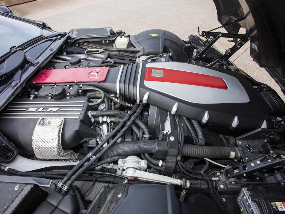<b>2008 Mercedes-Benz SLR McLaren Roadster</b><br />VIN. WDDAK76FX8M001802