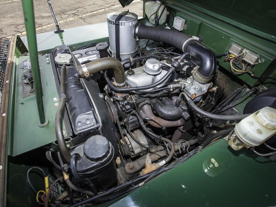 <b>1978 Land Rover Series III Station Wagon</b><br />Chassis no. 95400195A