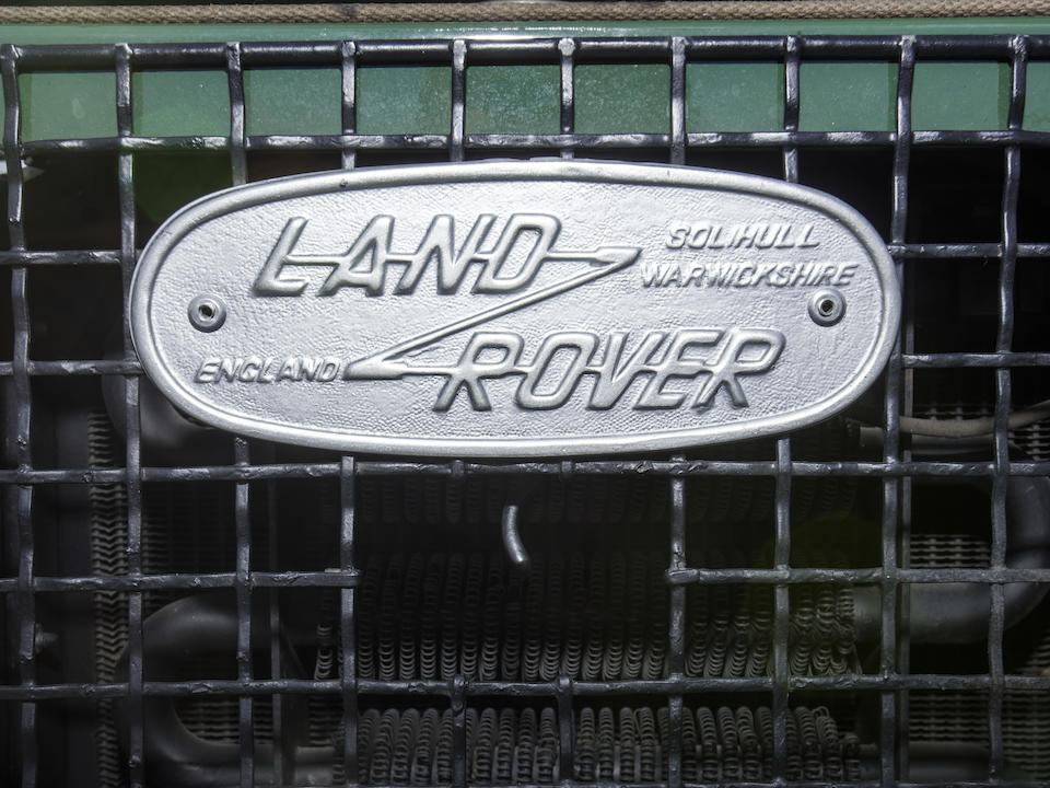 <b>1978 Land Rover Series III Station Wagon</b><br />Chassis no. 95400195A