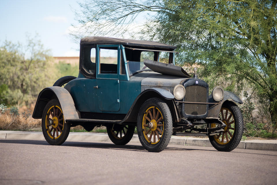 <b>1923 Hupmobile Roadster Coupe</b><br />Chassis no. 95087 <br />Engine no. 95283