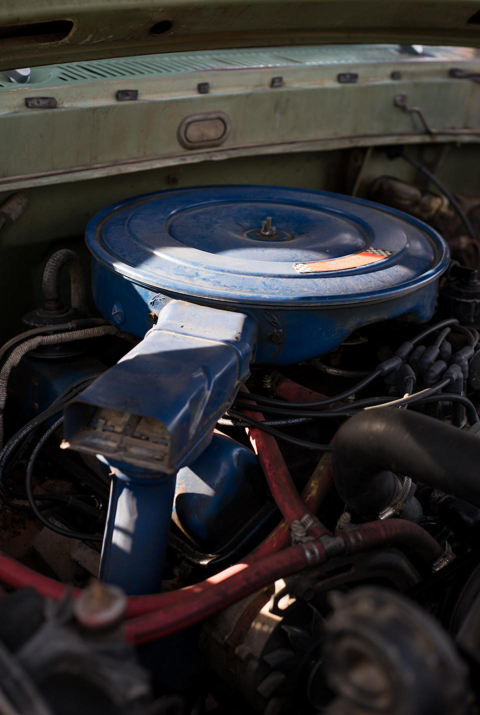 <b>1970 Ford F100 Sport Custom</b><br />Chassis no. F10YP971817