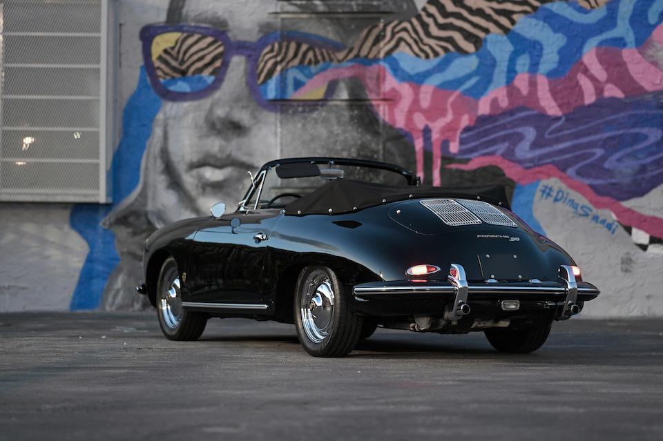 <b>1962 Porsche 356B Super 90 Cabriolet</b><br />Chassis no. 157138<br />Engine no. 802965 (see text)