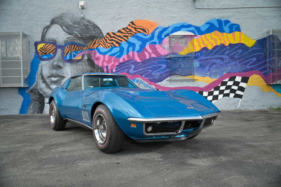 <b>1969 Chevrolet Corvette 427/390hp T-Top Coupe</b><br />Chassis no. 194379S719570