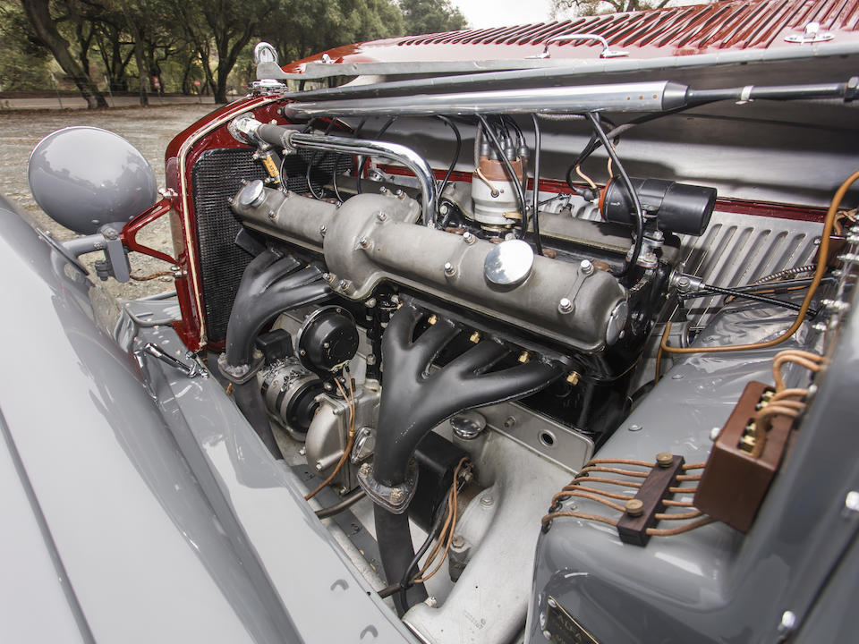<b>1932 Alfa Romeo 8C 2300 Cabriolet D&#233;capotable</b><br />Chassis no. 2111025 (renumbered 2311212)<br />Engine no. 2311212