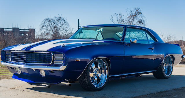 <b>1969 Chevrolet Camaro 'The Blue Devil'</b><br />Chassis no. 124379N620377