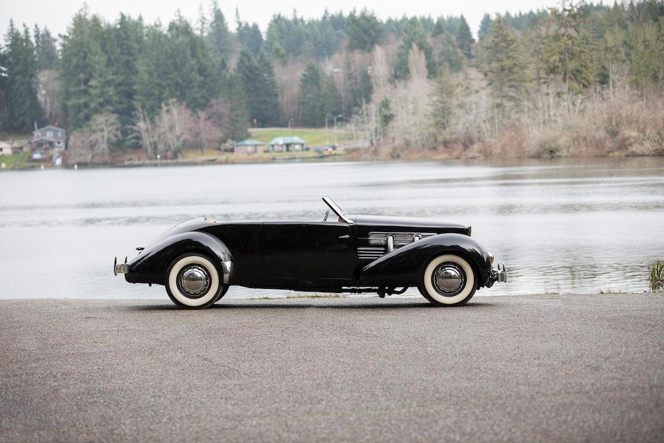 <b>1937 Cord 812 Phaeton</b><br />Chassis no. 633<br />Engine no. FB1865