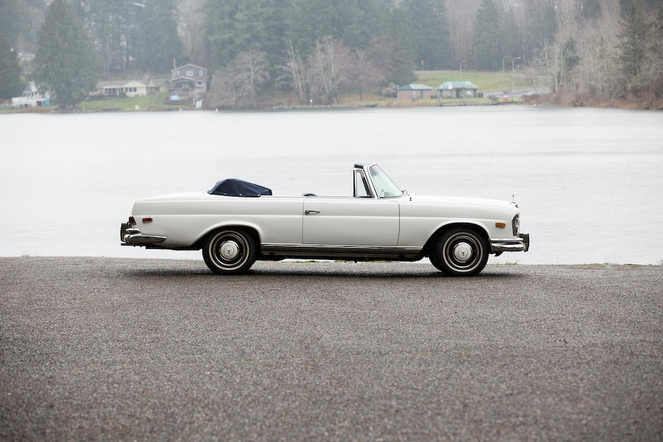 <b>1966 Mercedes-Benz 250SE Cabriolet</b><br />Chassis no. 111.023-12-083391