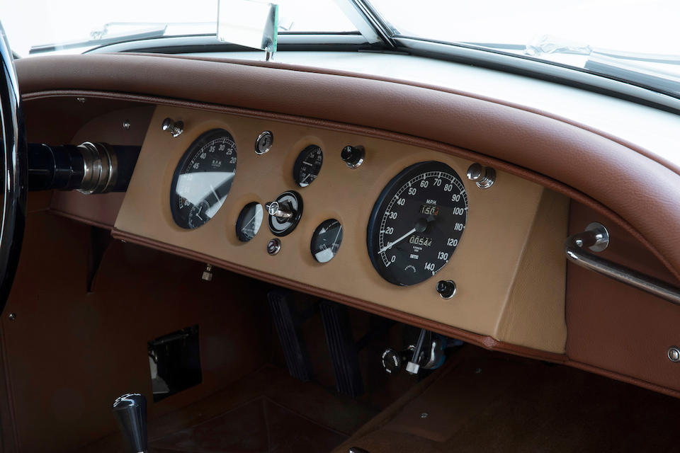 <b>1952 Jaguar XK120 Roadster</b><br />Chassis no. 671845<br /> Engine no. W4119-8