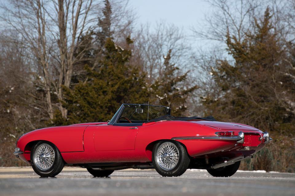 <b>1967 Jaguar E-Type Series 1 4.2 Roadster</b><br />Chassis no. 1E13230<br />Engine no. 7E9549-9