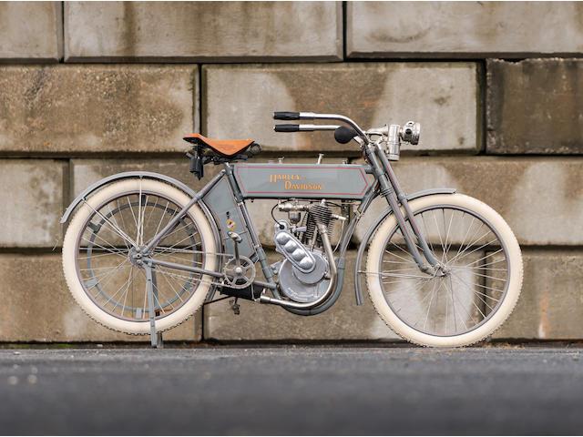 1910 Harley-Davidson 30ci Model 6A Single Engine no. 6741