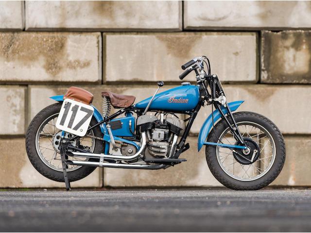 1948 Indian 45ci Big Base Factory Racing Motorcycle Engine no. FDH 141