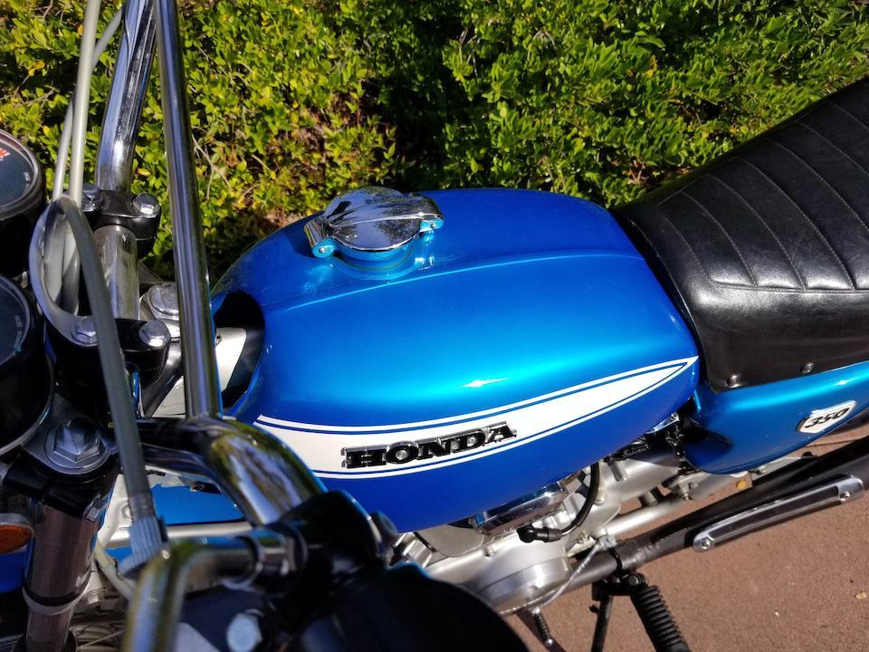 1970 Honda SL350 K0 Motorsport Frame no. SL350-1021008 Engine no. SL350E-1020949