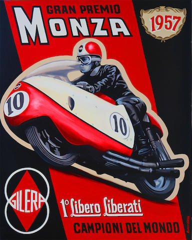 Robert Carter 'Liberati winning at Monza'