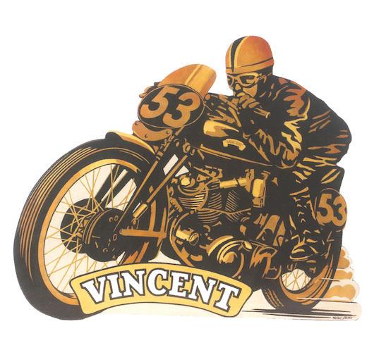 Robert Carter 'Vincent Black Lightning'