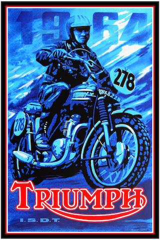 Robert Carter 'Steve McQueen Triumph'