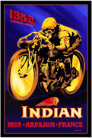 Robert Carter 'Indian 8 Valve'
