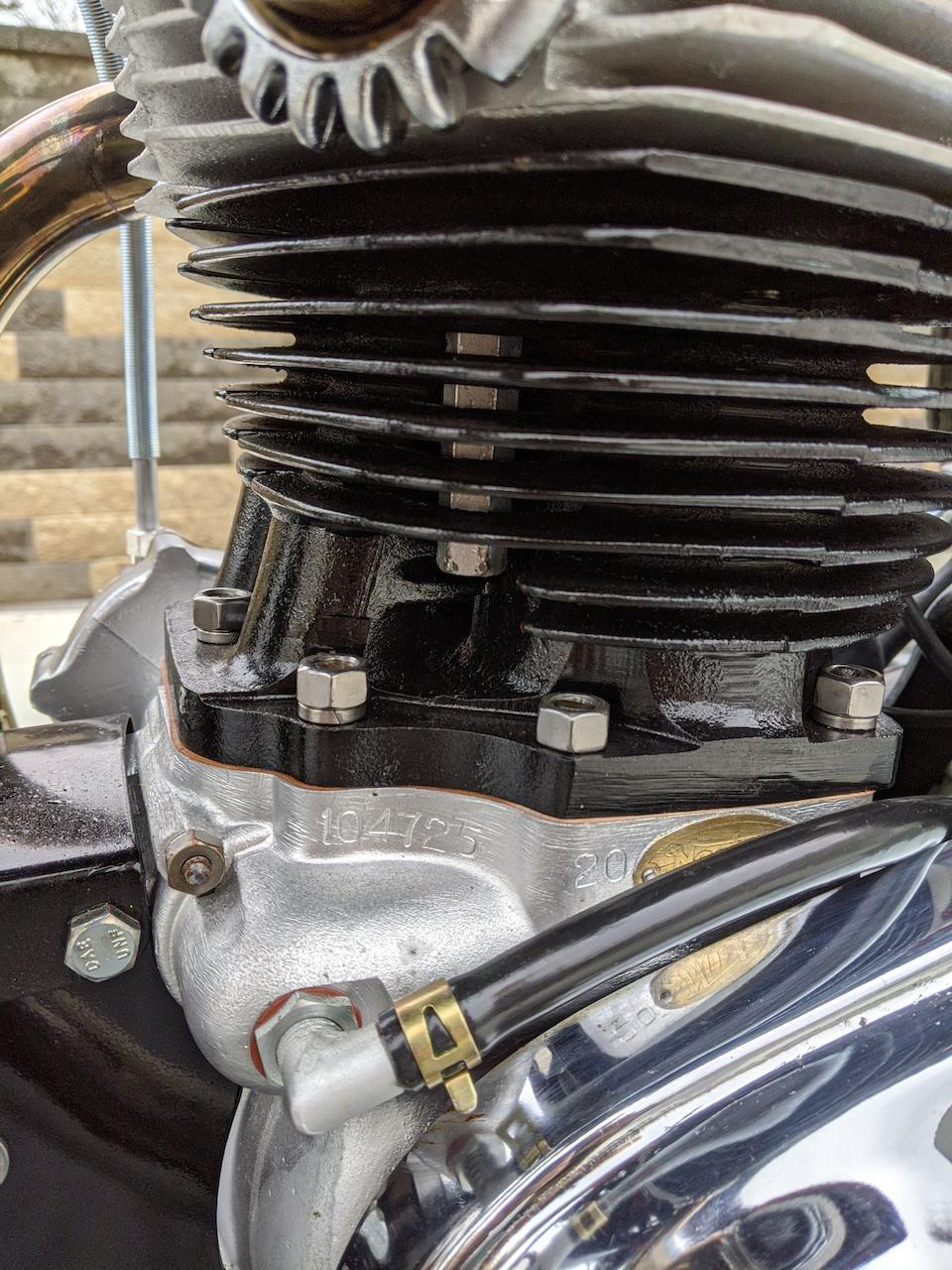 1963 Norton 750cc Atlas Frame no. 104725 20 Engine no. 104725 20