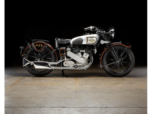 1938 AJS  1,000cc Model 2 Frame no. 941 Engine no. 38/2 2373