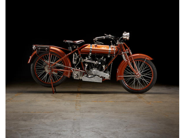 1925 NUT 750cc V-Twin Sports Tourer Engine no. 2287