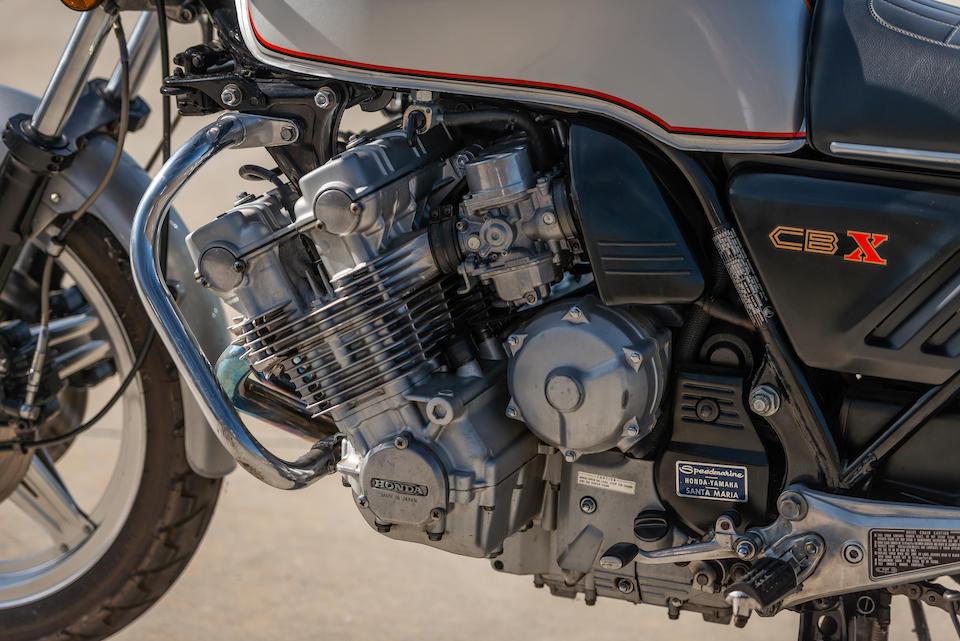 1979 Honda CBX1000 Frame no. CB1-2001251