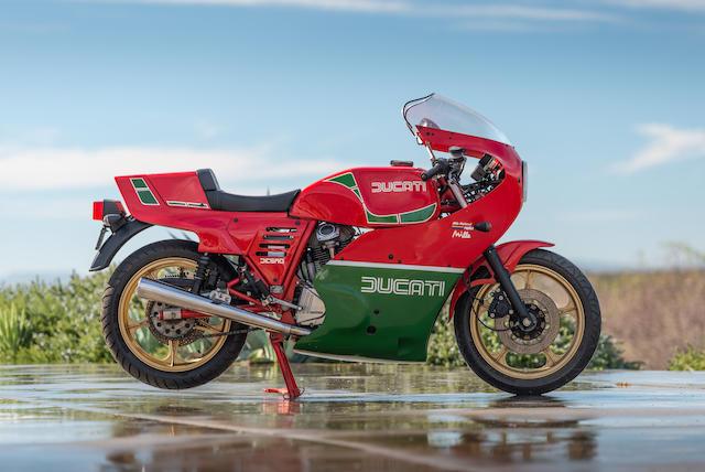 1985 Ducati 1,000cc Mike Hailwood Replica Frame no. ZDM1000R 100352 Engine no. 100258 ZDM1000