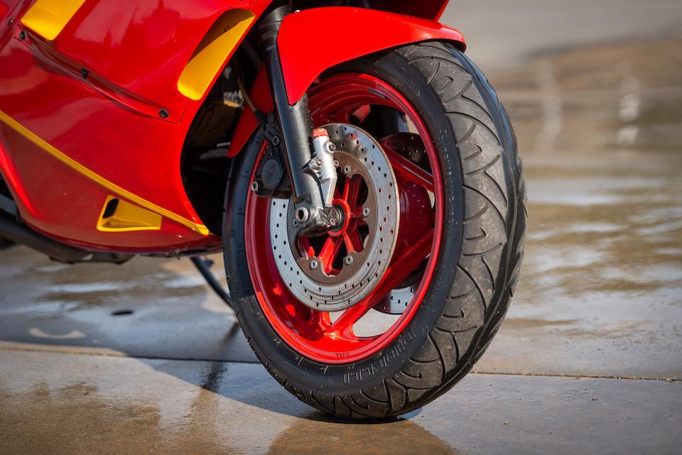 1988 Ducati 750 Paso Frame no. ZDM1DA3M6JB754723