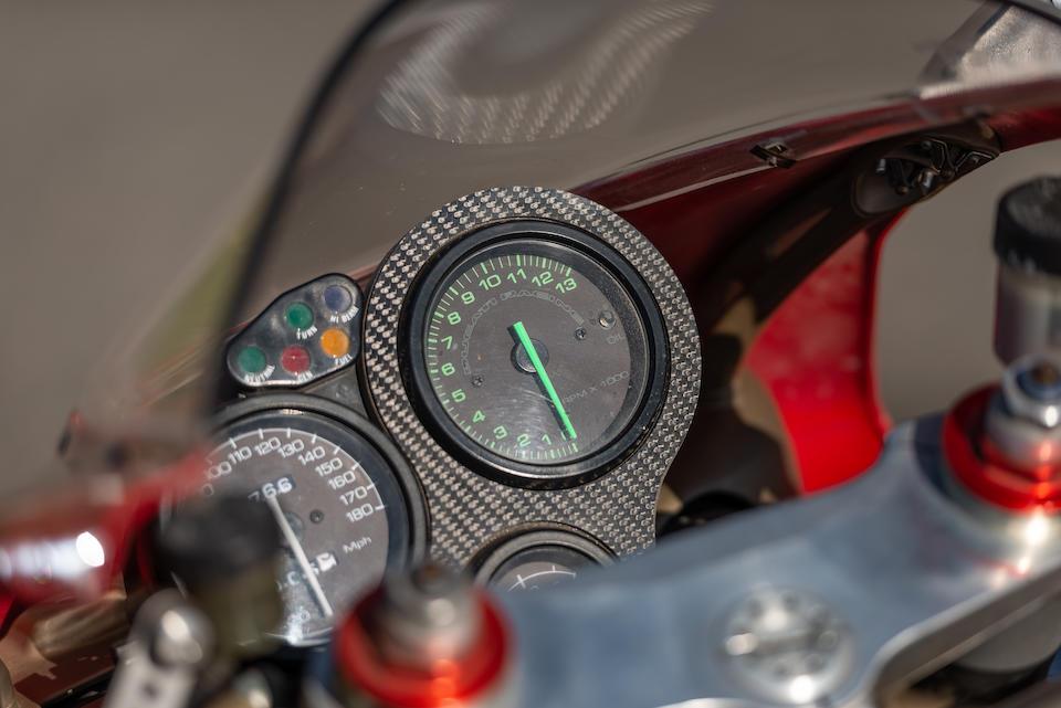 1995 Ducati 916 Frame no. ZDM1SB8S3SV000665