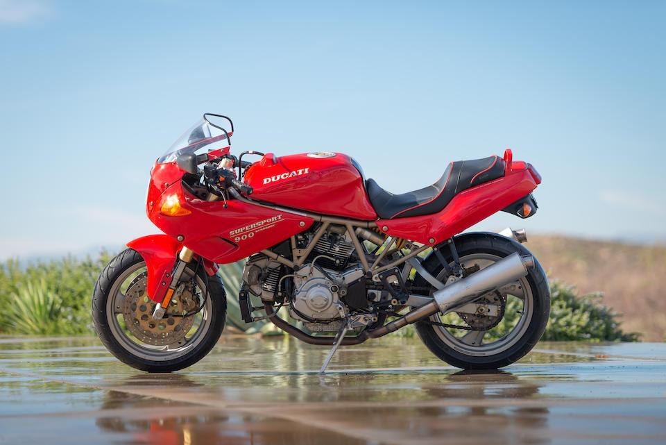 1996 Ducati 900 SS/CR Frame no. ZDM1LC4M7TB022424