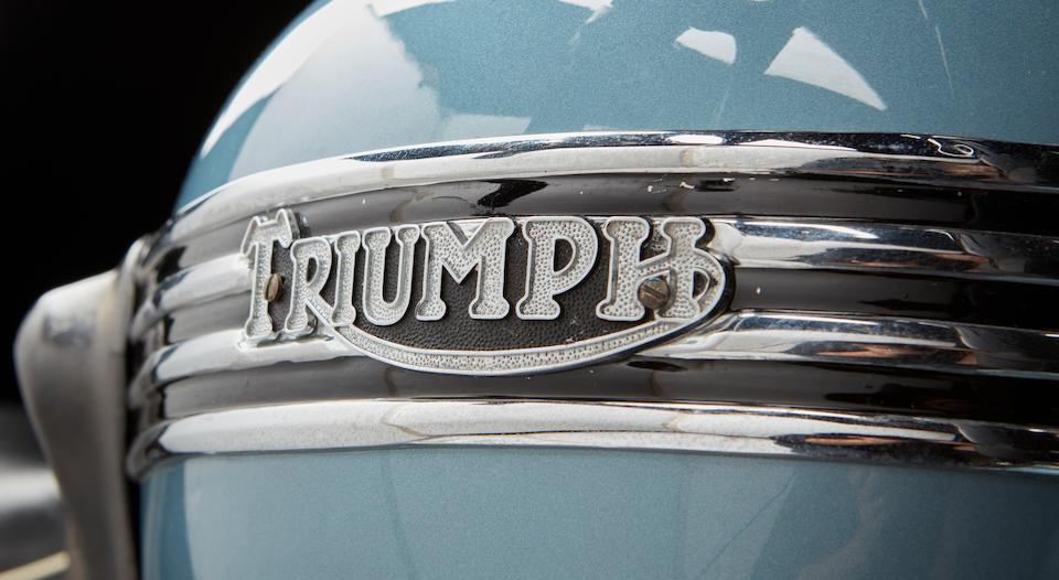 1956 Triumph 499cc TR5R Frame no. 76157  Engine no. TR5R 76157