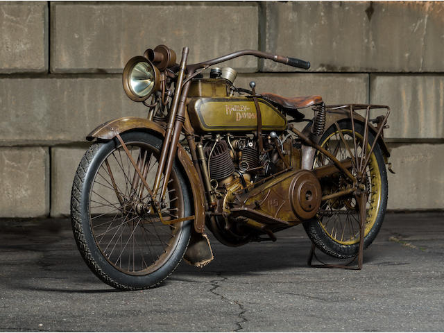 1918 Harley-Davidson 60.33ci Model 18J Engine no. L18T17150A