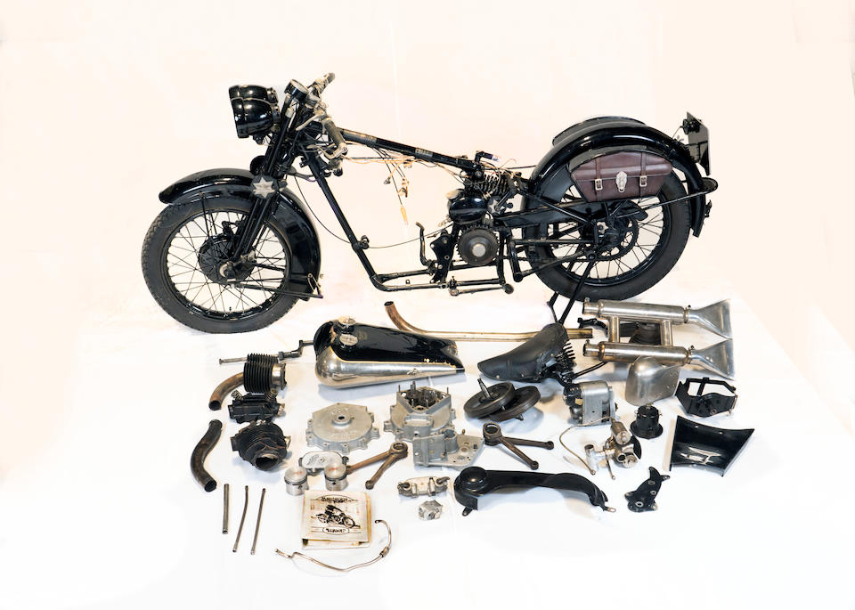 1929 Brough Superior 680 OHV Project Frame no. H18 (see text) Engine no. GTOY/S 40676/S