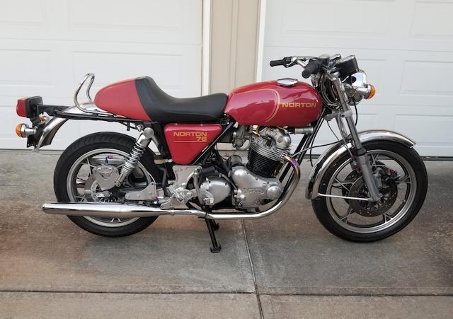 1975 Norton Commando 850cc MKIII Prototype Replica