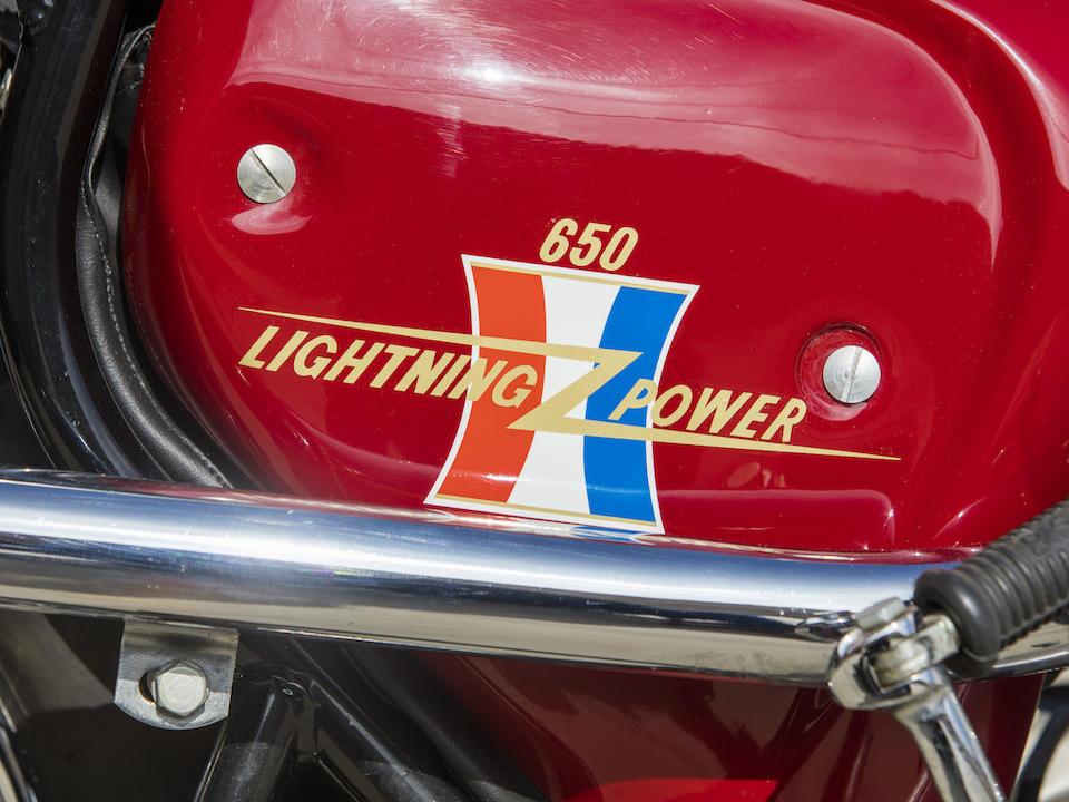 1966 BSA 650cc A65 Hornet Scrambler Frame no. 65HA 8003 Engine no. A65HA8003-Y