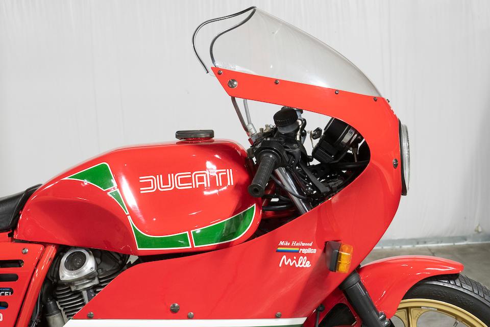 1985 Ducati 1,000cc Mike Hailwood Replica Frame no. ZDM1000R100320 Engine no. 10040 ZDM1000