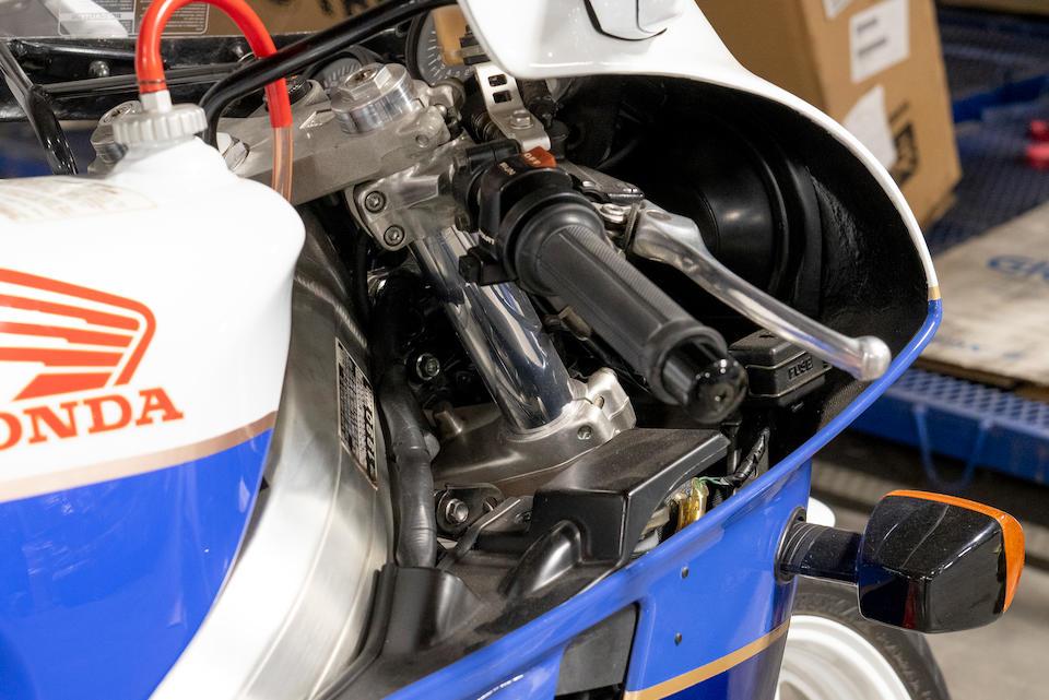 1990 Honda VFR750 RC30 Frame no. JH2RC3000LM200042