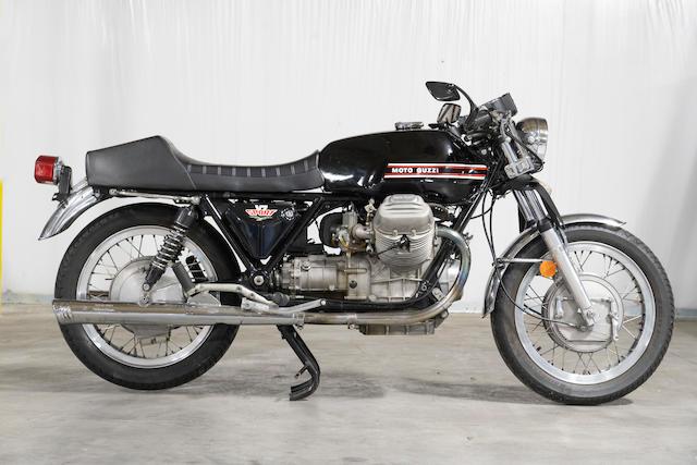 1973 Moto Guzzi V7 Sport Frame no. VK033111