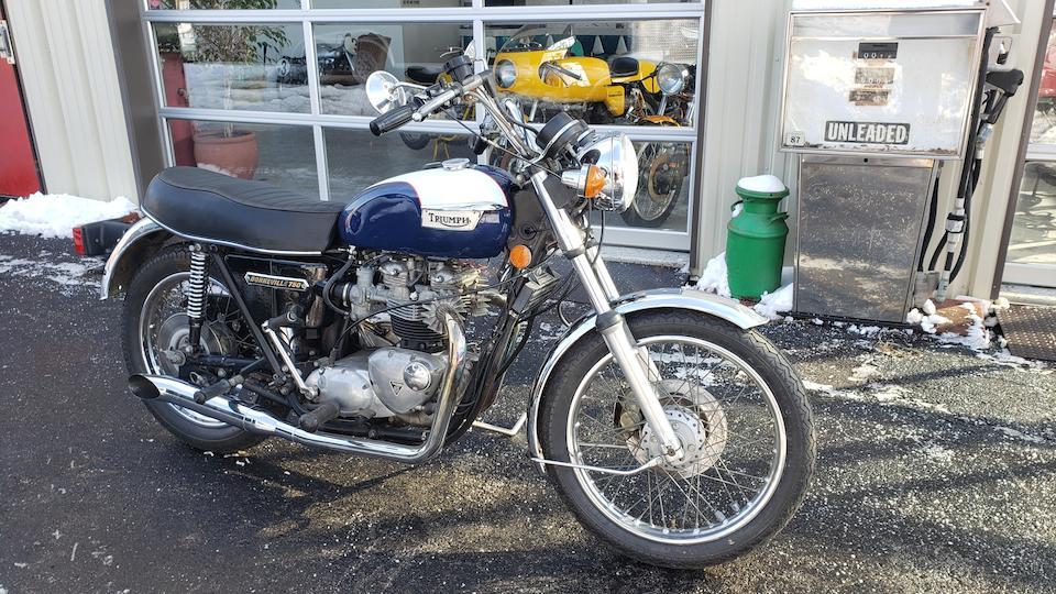 1976 Triumph 750cc T140V Bonneville Frame no. T140V 78249 Engine no. T140V NP78249