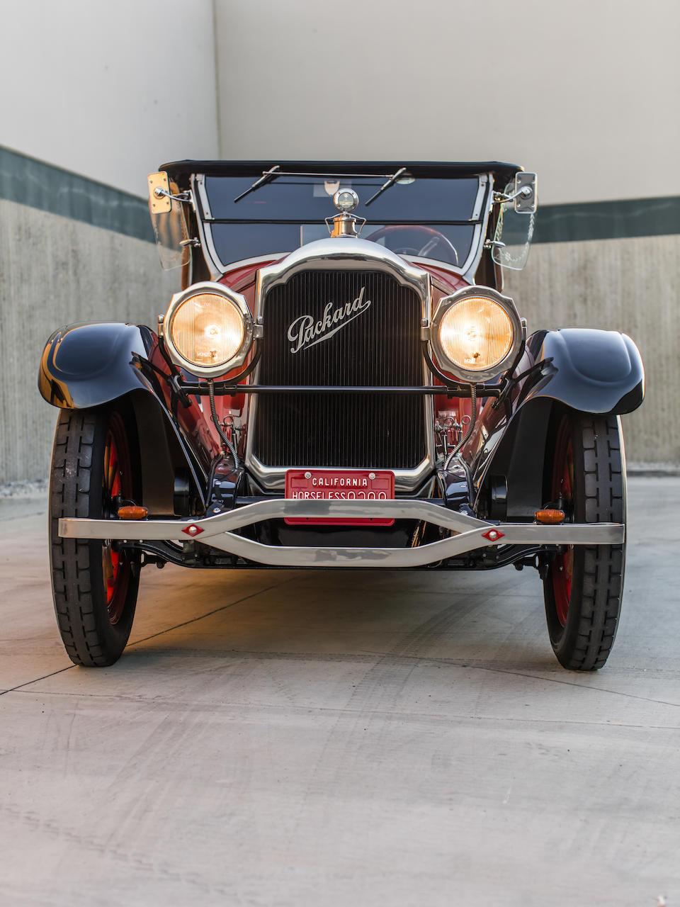 <b>1922 Packard Single Six 223 Runabout</b><br />Chassis no. U22272A<br />Engine no. U22469
