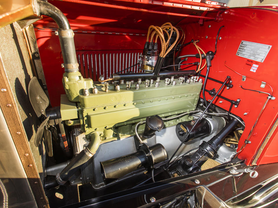<b>1922 Packard Single Six 223 Runabout</b><br />Chassis no. U22272A<br />Engine no. U22469