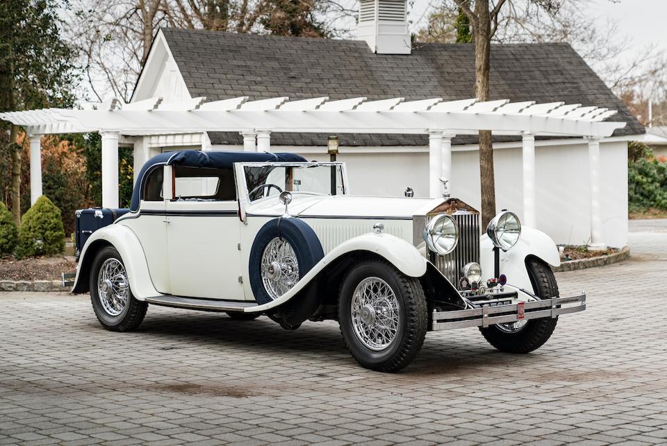 <b>1931 Rolls-Royce 40/50HP Phantom II (Sedanca) Drophead Coupe</b><br />Chassis no. 67 GX<br />Engine no. FF15
