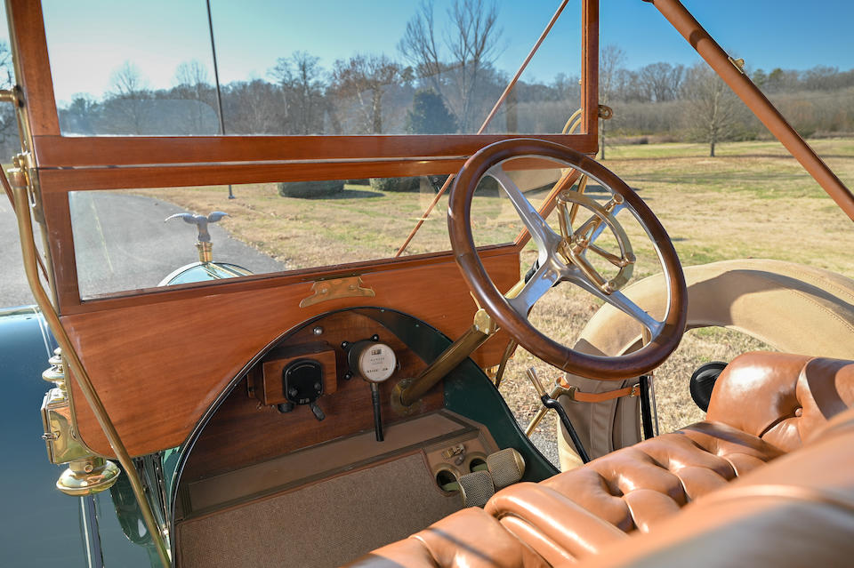 <b>1910 Thomas Model M 6-40 Flyabout</b><br />Engine no. M 79