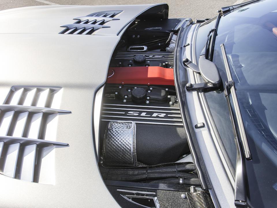 <b>2006 Mercedes-Benz SLR McLaren Coupe</b><br />VIN. WDDAJ76F96M001144