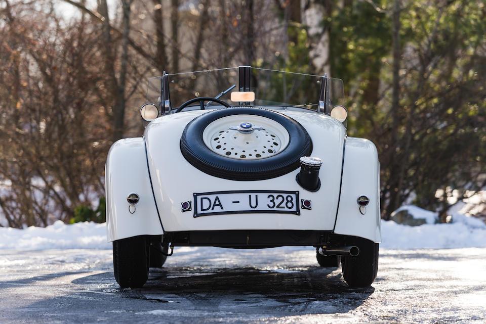 <b>1938 BMW 328 Roadster</b><br />Chassis no. 85196<br />Engine no. 85196